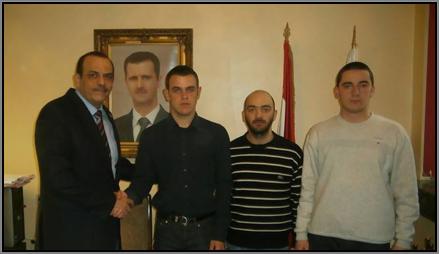 Уили Фароли в Сирийското посолство